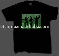 2012 new design el t-shirt