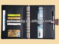imitation leather portfolio/conference file folder