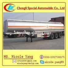44500L tri-axle Heavy oil transport aluminum cage trailer