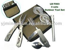 Camping Multi Tool Set Kit Survival Kits