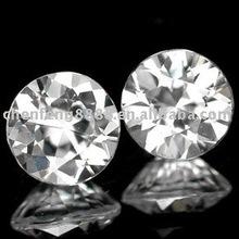 round zirconia stone gems with drop shiping