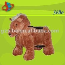 GM5918 rocking horse dog,plush rocking horse,kids rocking horse