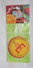 galatasaray custom air freshener with display card for wash service