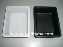 plastic frozen food tray