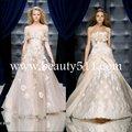 فستان الزفاف نمط عربية، التطريز عربية رداء ذو أربطة wdah0475 ملابس الزفاف