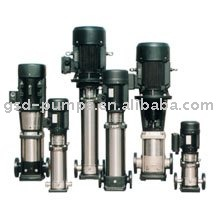 SMV stainless steel vertical multi-stage centrifugal pump, pressure pump