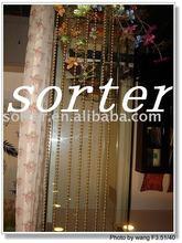 modern fashion decorativeroom divider metal beads string curtain