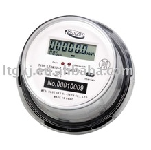 DDS8888 single phase two wire electric digital round energy meter with Infrared