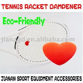 Racket Heart Dampener Accepts Customized Logo/designs