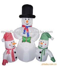 inflatable Christmas Snowman Family
