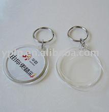 openable blank photo frame key chain/ key holder /key ring