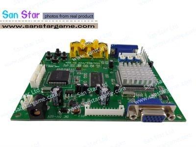 RGB TO VGA/CGA TO VGA Converter Board-Video Board for arcade game machine