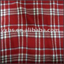 100% Cotton Twill Plaid Flannel Fabric