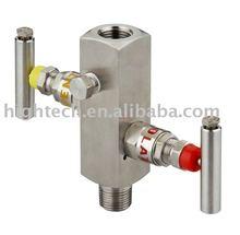 high pressure 2 valve manifold ,block&bleed valve