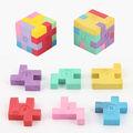 Interwell ec26 personnalisée. effaceur., carrés en forme de gomme à effacer puzzle