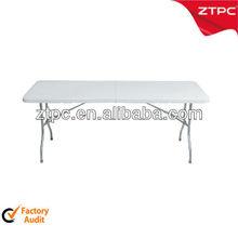 Cheap suitcase plastic folding table
