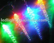 LED icicle tube light for christmas decoration or wedding decoration