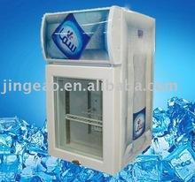 20L mini counter top display refrigerator