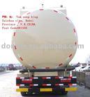 DTA 8*4 bulk cement truck 39~47M3 cement tanker factory sale