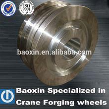 42crmo crane forged wheel