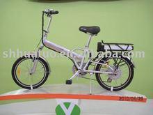 Plegable de la bicicleta eléctrica TDN06Z-3 abril mostrar