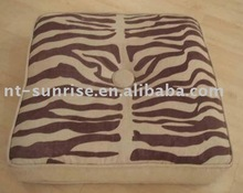 printing fur folding oriental floor cushions