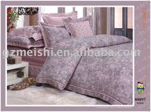 brushed jacquard bed sheet