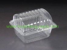 PET disposable folding plastic bread box