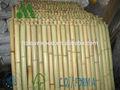 Bambu natural painéis, telas para jardim, quintal e projetos