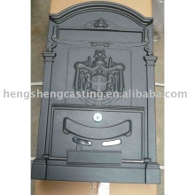 cast aluminum wall mailbox / letter box manufacturers