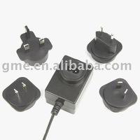 3-24V 0.4-3.0A Interchangeable Power Adapter