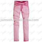 Fashion Lady's Denim Jeans