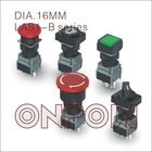 ONPOW waterproof electrical push button switch(LAS1-B Series,Dia.22mm,UL,CE,ROHS,REECH,IP40,IP65)