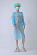 Nonwoven isolation gown,nonwoven clothing use for hospital