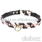 pet collars and leashes -luxury pet collar dog training collar