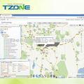 Tzone de tempo Real gps tracker software
