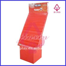 Cardboard display stand for greeting cards
