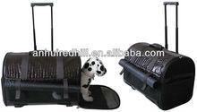 Fashion PU Pet trolley bag