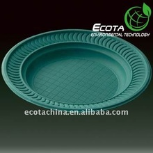 100% Biodegradable eco friendly plate