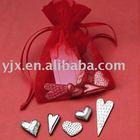 organza drawstring wedding gift pouch/bag