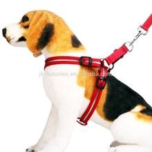 LED flashing pet dog harness