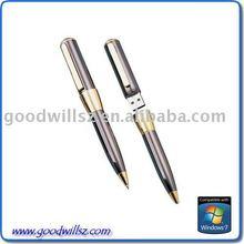 1G/2G/4G/8G 16G 32G metal pen usb flash drive 3.0