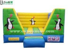 Indoor penguin inflatable jumper for kids