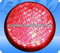 120mm Cobweb Lens Red LED Traffic Signal Module