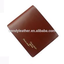 Fashion man leather wallet