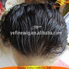 Indian Hair Natural Wave Men Hair Toupee