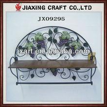 metal hanging towel shelf,metal handicraft home decoration towel shelf
