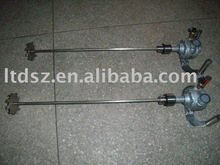 0.37kw portable pneumatic mixer agitator
