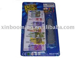 Euro money play toys