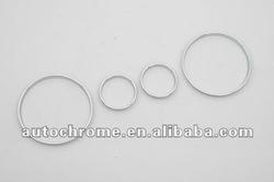 Car Accessory Chrome Gauge Ring for BMW E38 7 Series